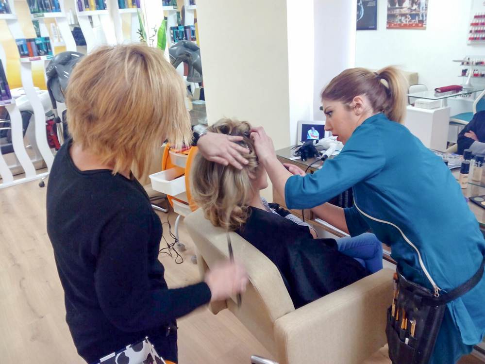 maquilladora y peluquera en Granada