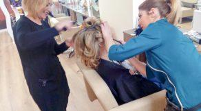 maquilladora y peluquera para boda