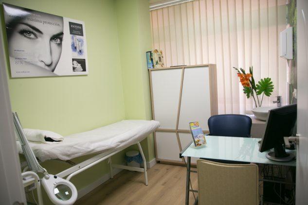 Mar Lesser sala de diagnóstico