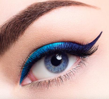 tendencias de maquillaje primavera 2018_eyeliner colores