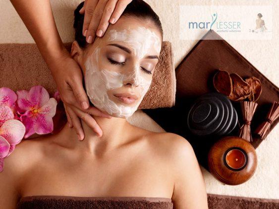 Limpieza facial posvacaciones