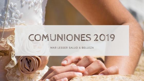 peluquería para Comuniones 2019 en Granada