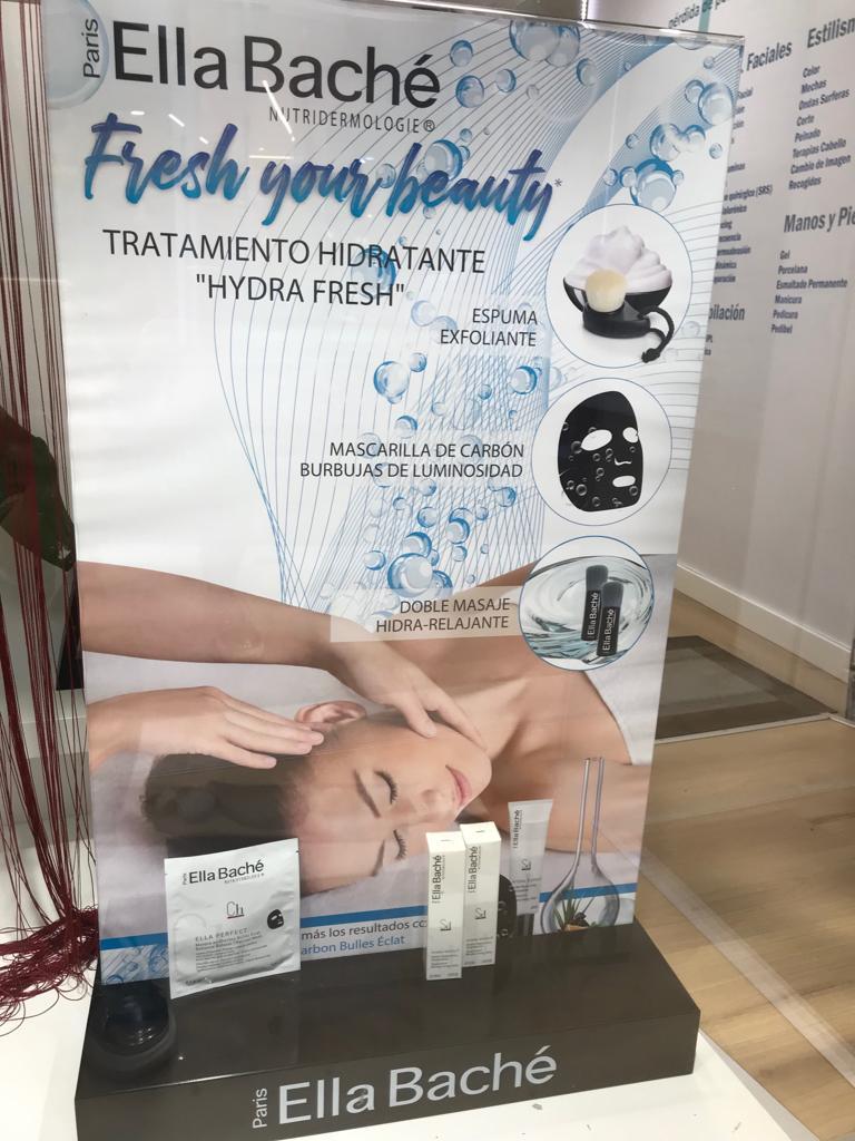 tratamiento hydrafresh de ella bache en Granada