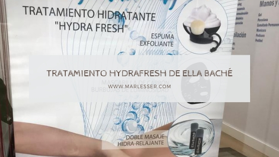 tratamiento hydrafresh de ella bache