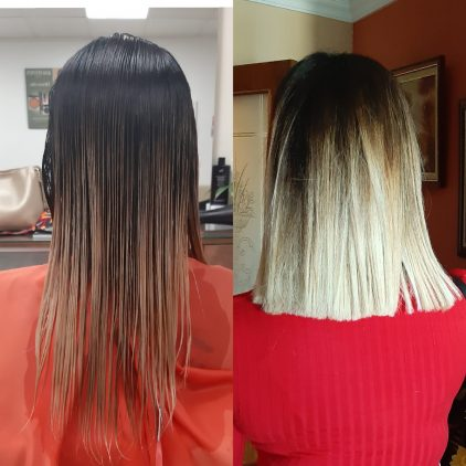 Mar Lesser corte de cabello