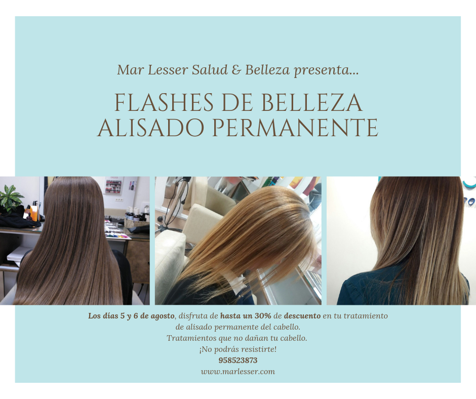 Flashes de belleza alisado permanente