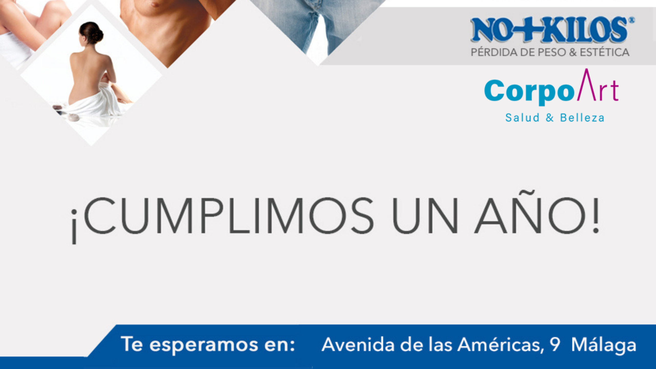 Corpoart No+Kilos Málaga Aniversario