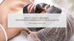tratamiento carbón activo de Ella Baché en Granada